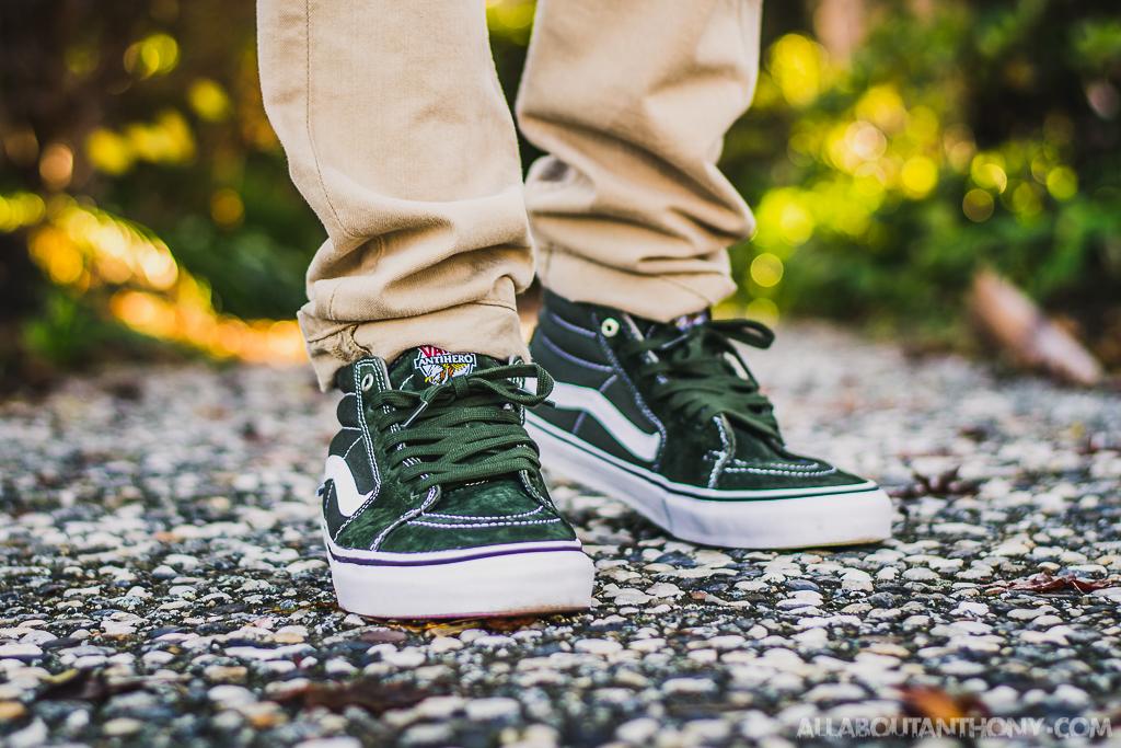 2c8c822ba4cf89 Vans Sk8 Mid x Antihero On Feet Sneaker Review