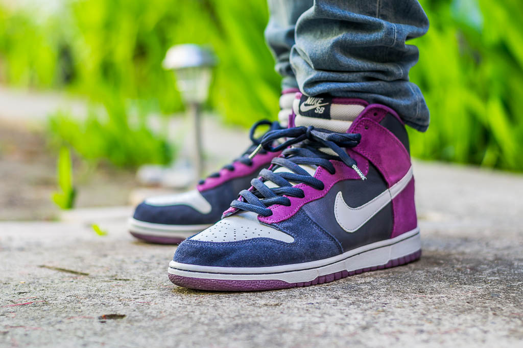 buy online d63b7 e2f48 Nike Dunk High SB Unheavens Gate On Feet on foot photo