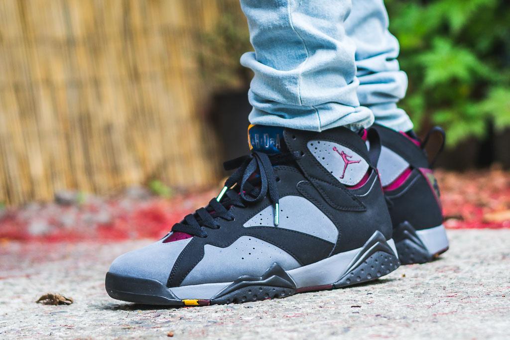 002fe654d63 2011 Air Jordan VII Bordeaux On Feet Sneaker Review