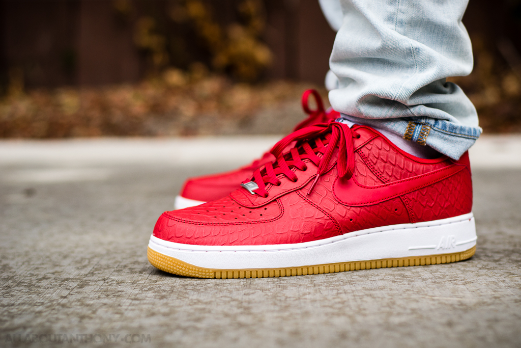 Air Force 1 '07 LV8 UNIVERSITY REDUNIVERSITY RED