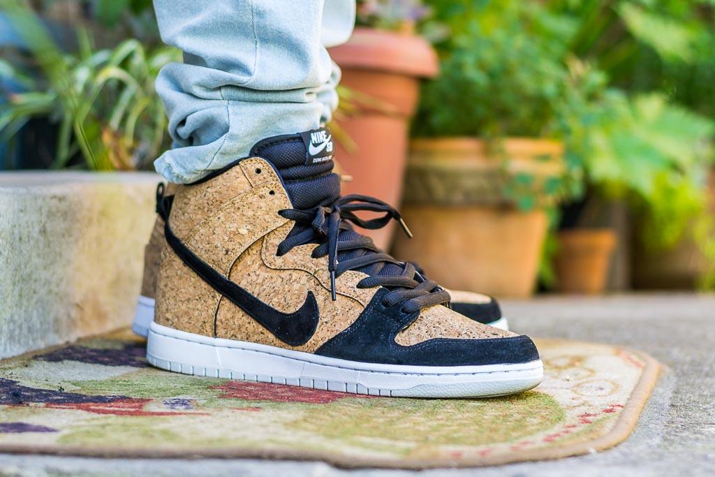 best service 3e27d 96f53 Nike Dunk High SB Cork On Feet Sneaker Review