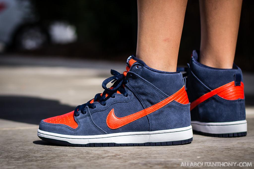 46d0766c coupon code for orange blue mens nike sb dunk high shoes 96241 7a854