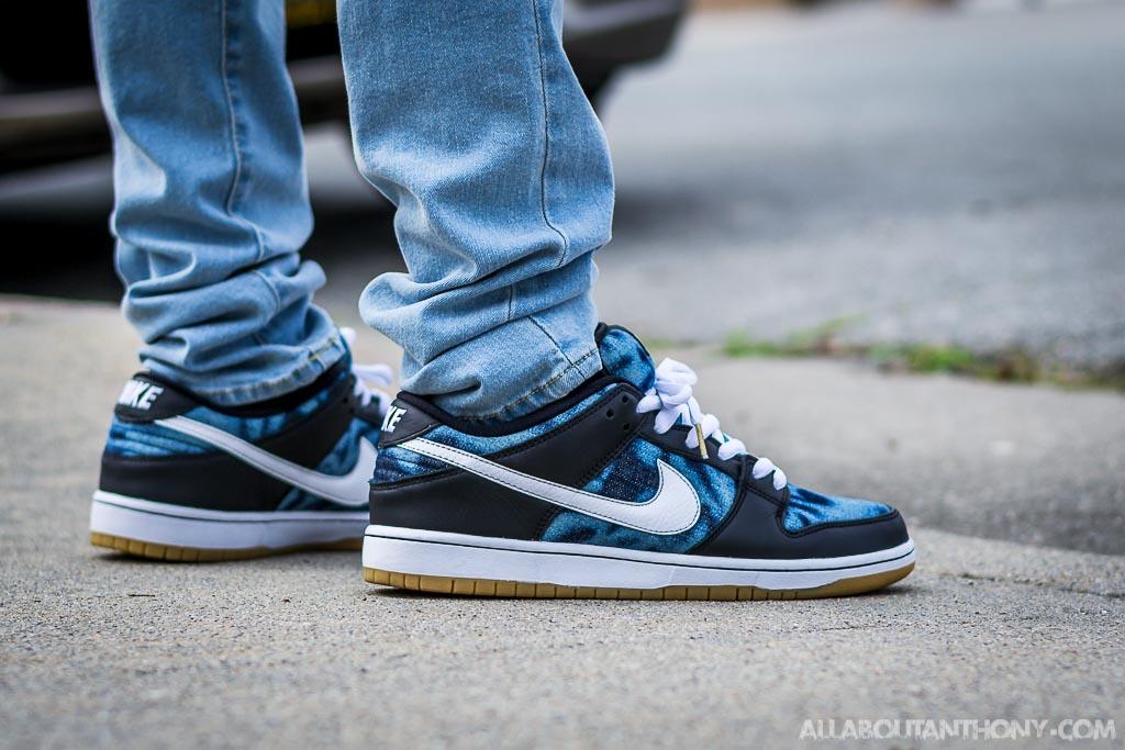meet 574c3 4660b Nike Dunk Low SB Fast Times on feet