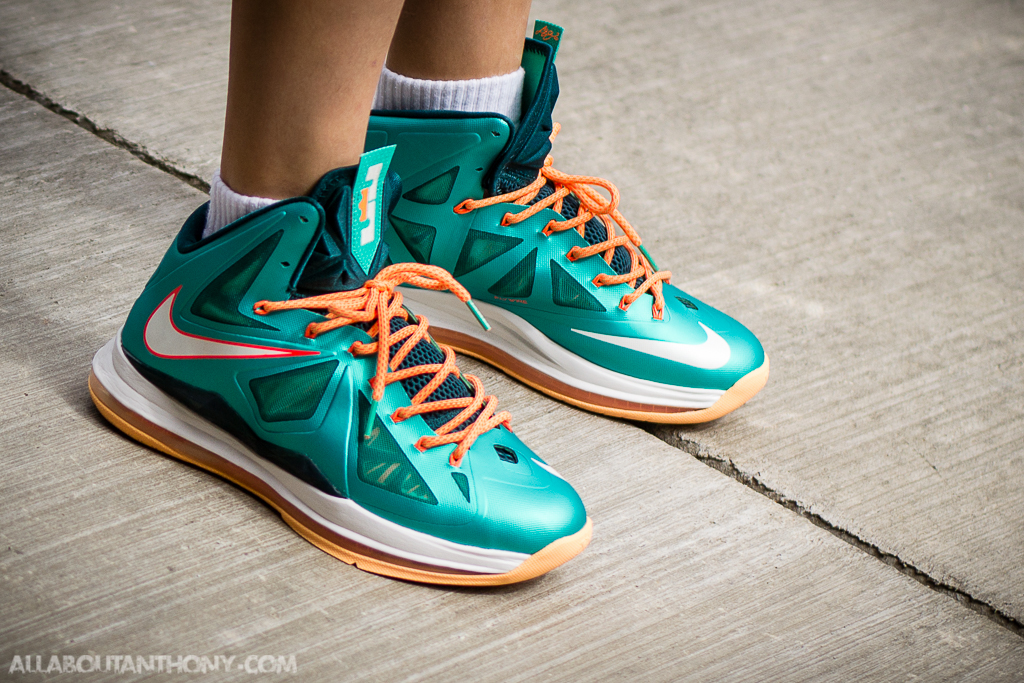 Nike Lebron X Dolphins - WDYWT