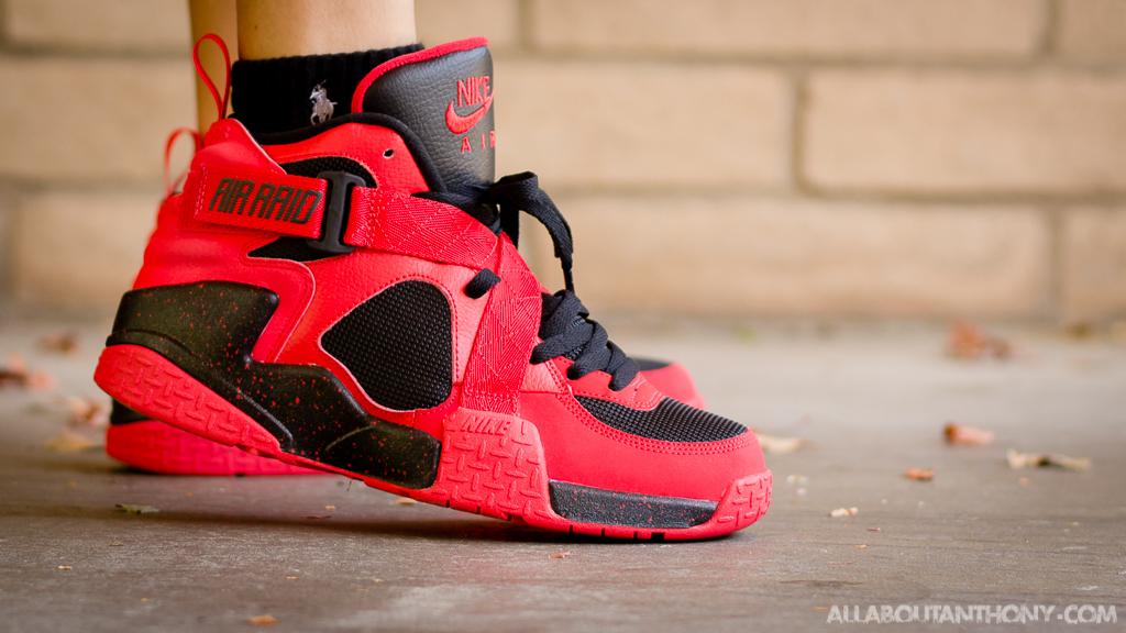 Nike Air Raid University Red - WDYWT