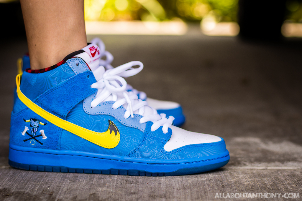 Nike Dunk High SB Blue Ox - WDYWT