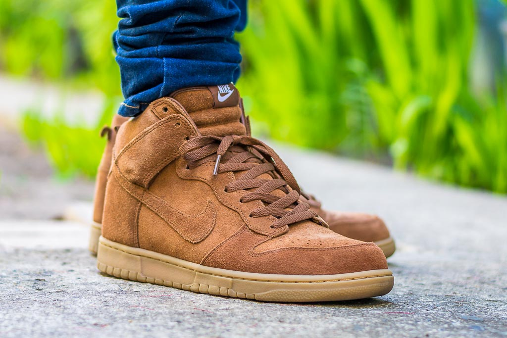competitive price 688b1 a6f72 Nike Dunk High APC On Feet on foot photo .