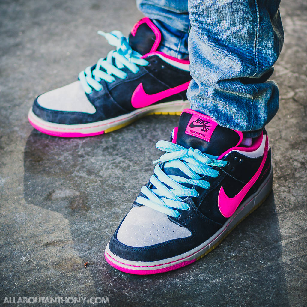Nike Dunk Low SB Disposable On Feet
