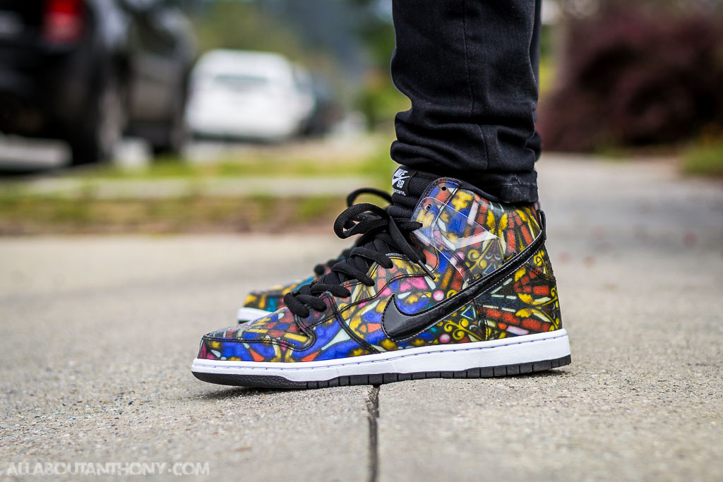 on sale d4d78 578d3 Nike Dunk SB High Stained Glass - WDYWT