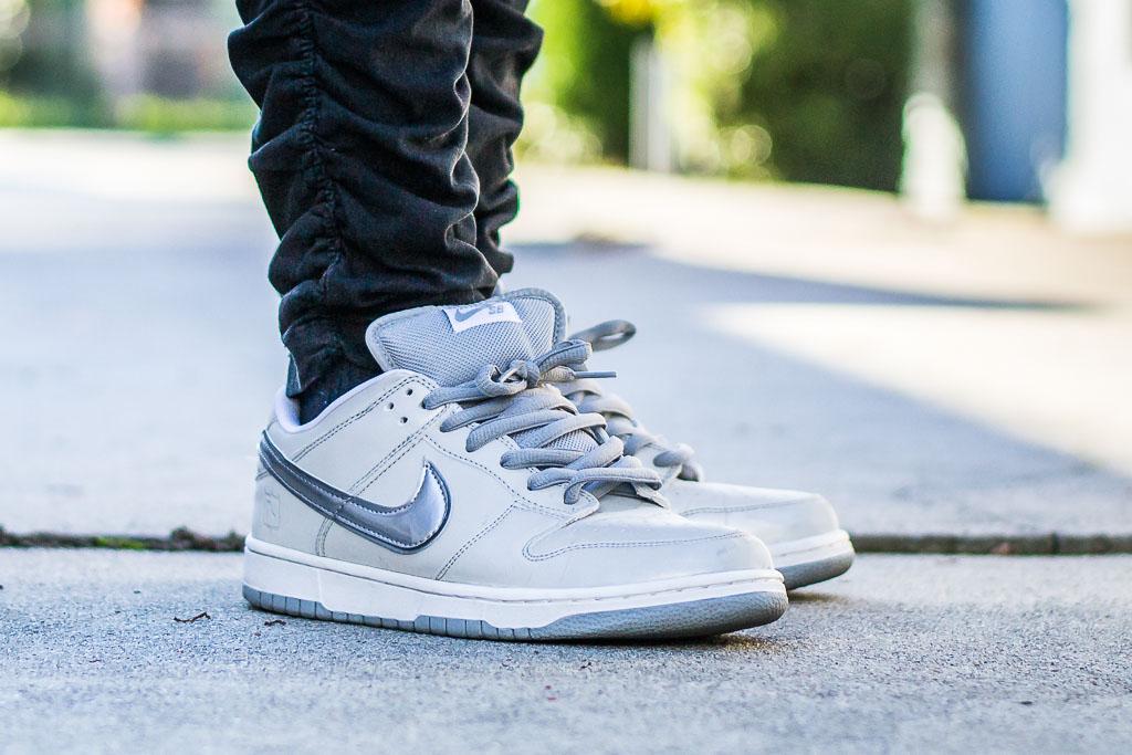 best website 6ecd1 2aa5c Nike Dunk Low SB Medicom 3 - On Feet Sneaker Review