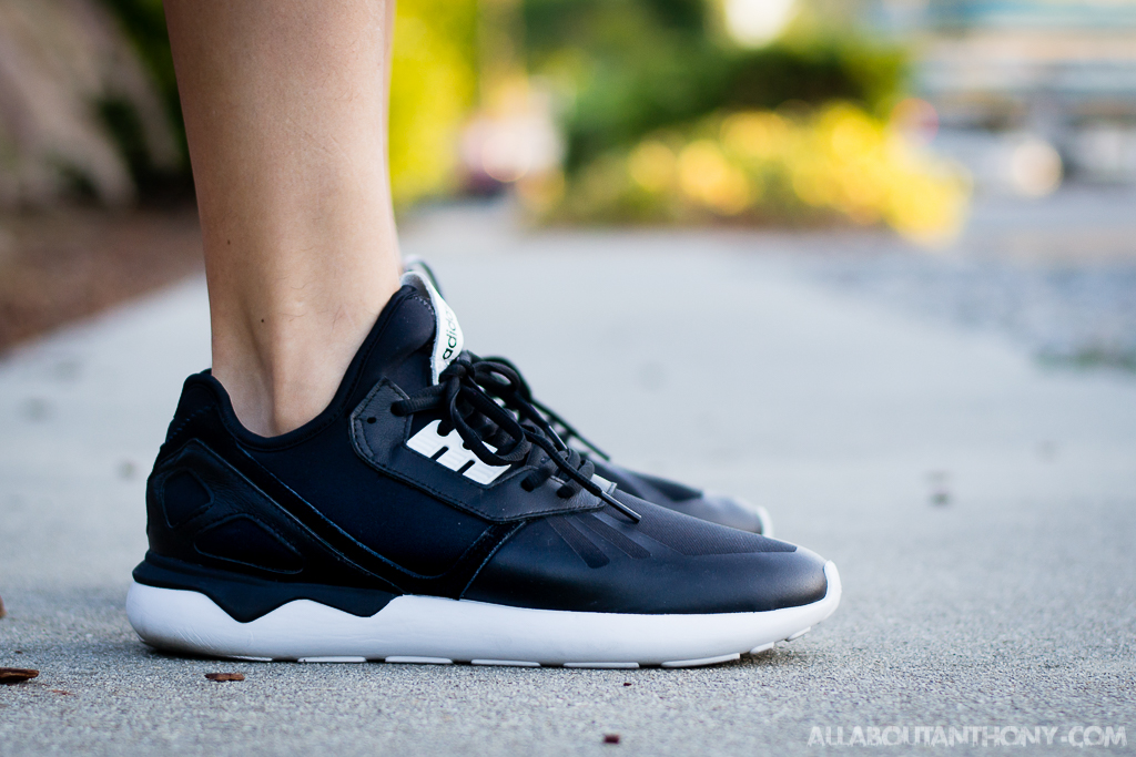 nouveau style cc0e6 7d64f Adidas Tubular Runner Core Black - On Foot Sneaker Review