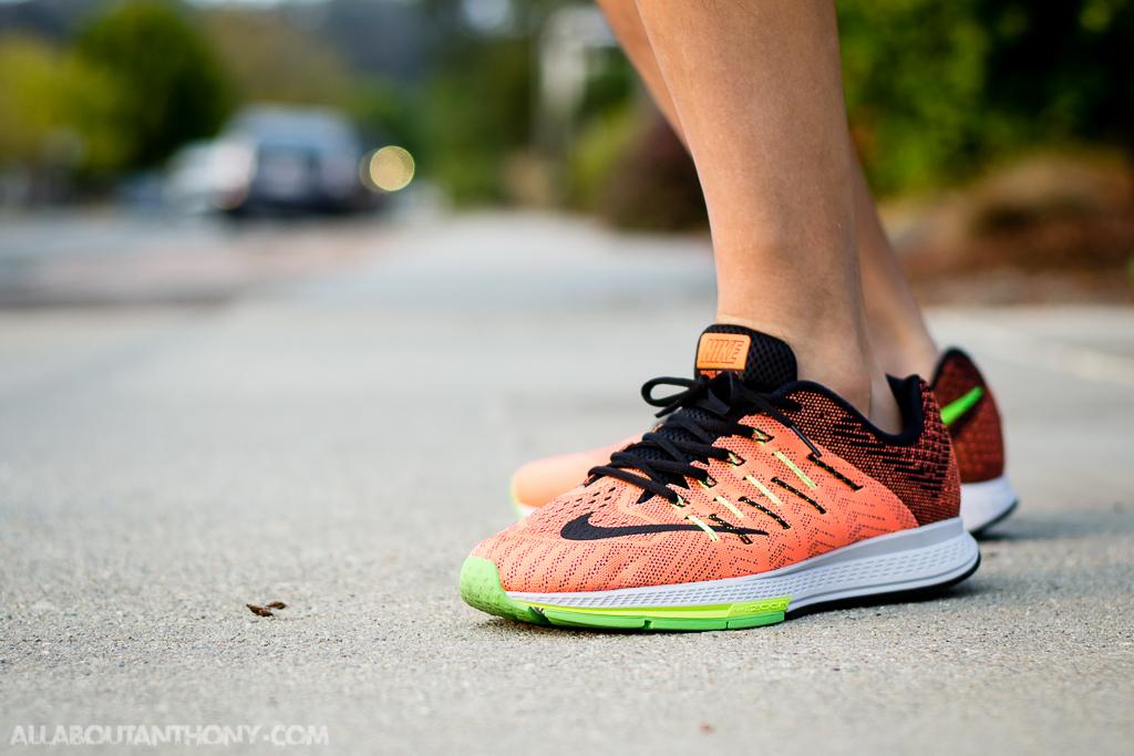 Estar confundido profundo Barrio  Nike Air Zoom Elite 8 Total Orange On Foot Sneaker Review