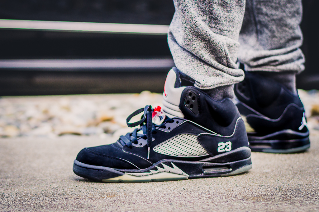 5cca186d1c2fde Air Jordan 5 Metallic (2006) - On Feet Sneaker Review