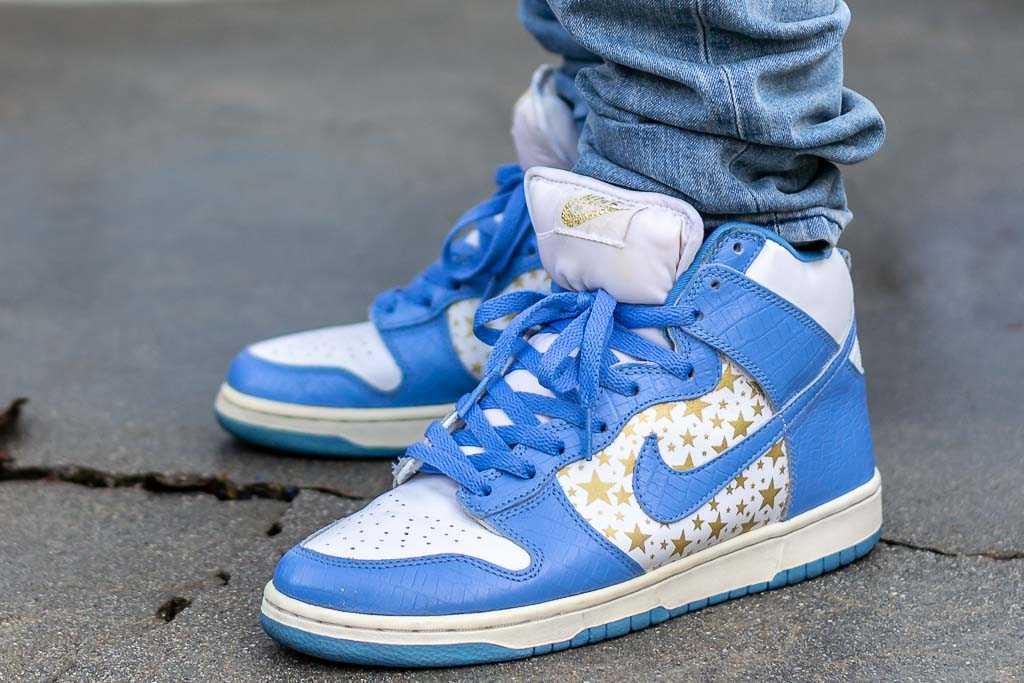 Nike Dunk High SB Supreme Blue - On