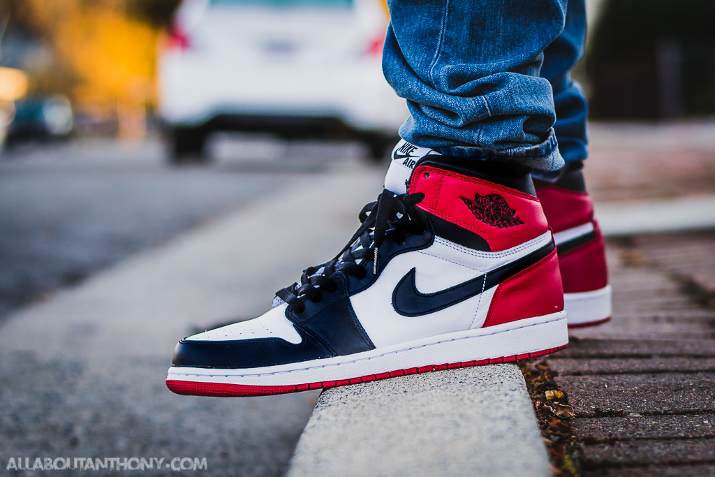 3150b18bb45375 air jordan 1 retro high og black toe ebay nike air jordan 1 retro high