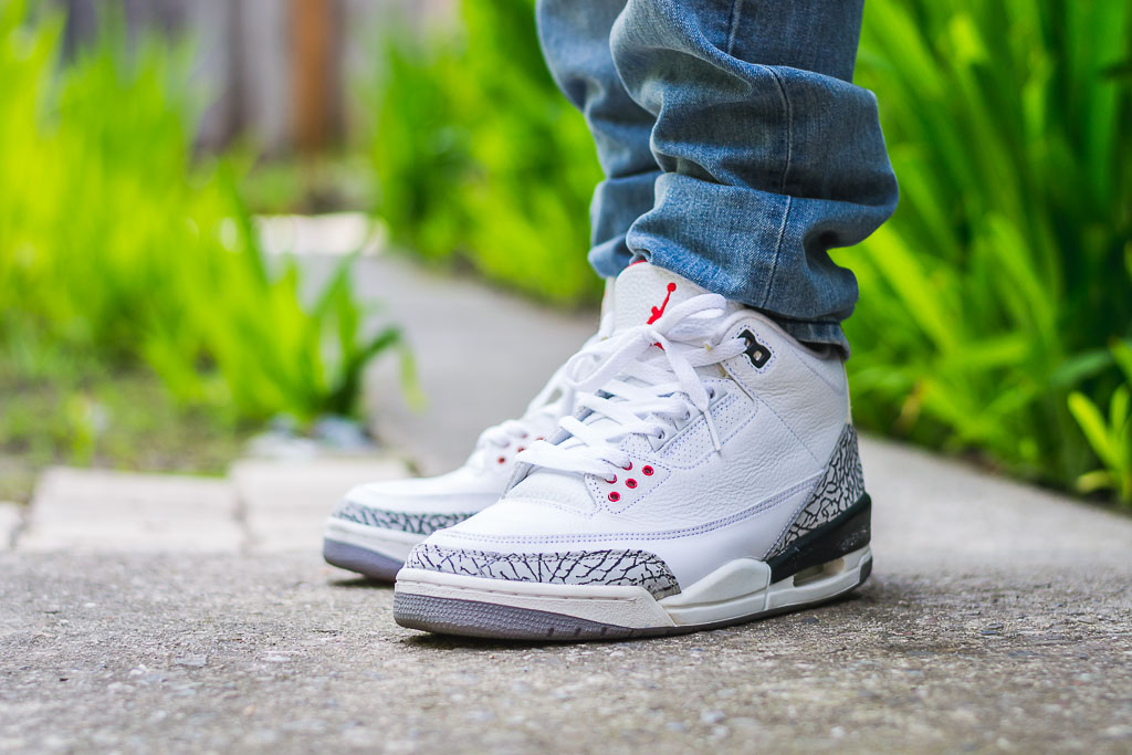 more photos 602be 21b36 Air Jordan III White Cement (2003) - WDYWT