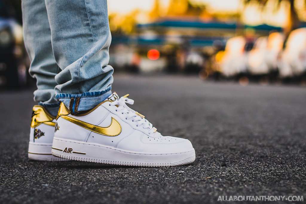 nike air force 1 white with stars