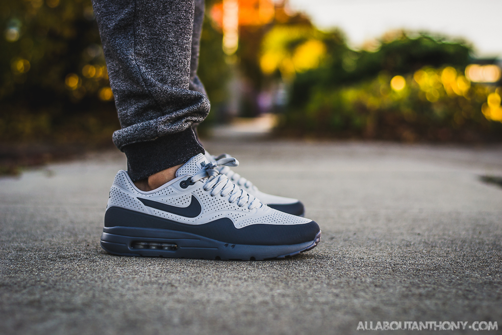 Nike Air Max 1 Ultra Moire Grey On Feet Sneaker Review