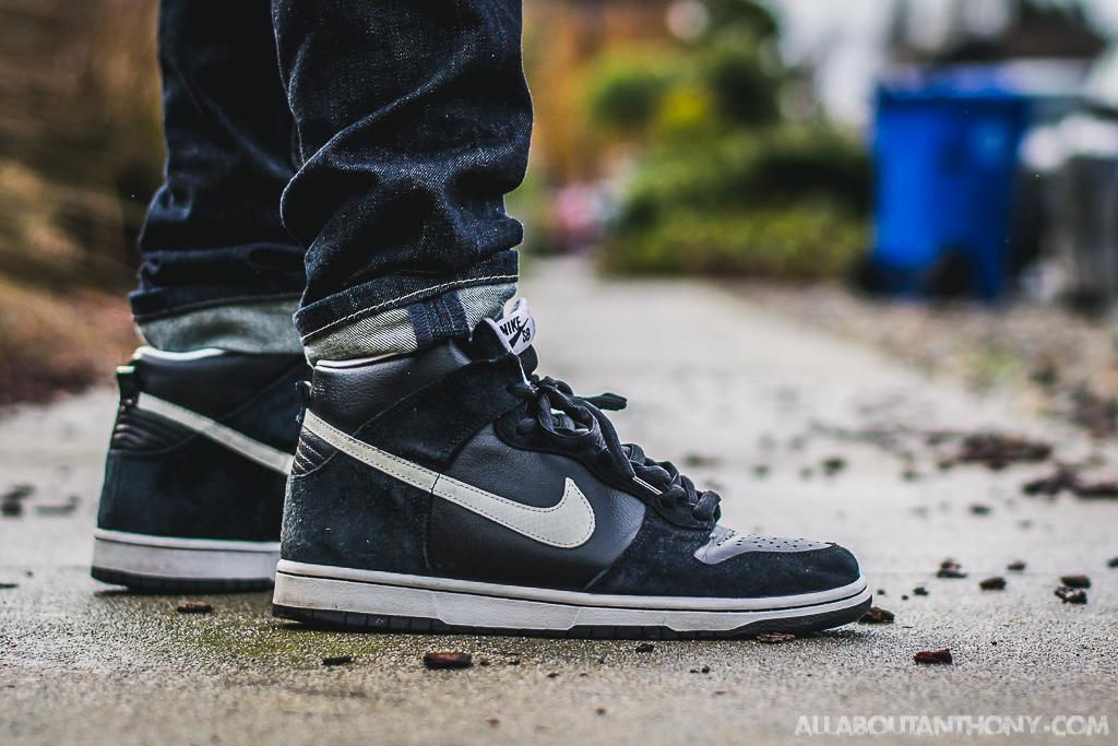 Nike Dunk High SB Venom On Feet Sneaker