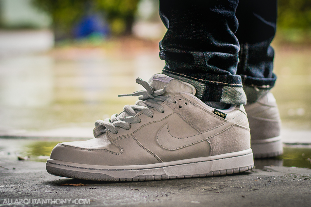 info for 2e13c 93c3d Nike Dunk Low SB Goretex on foot photo