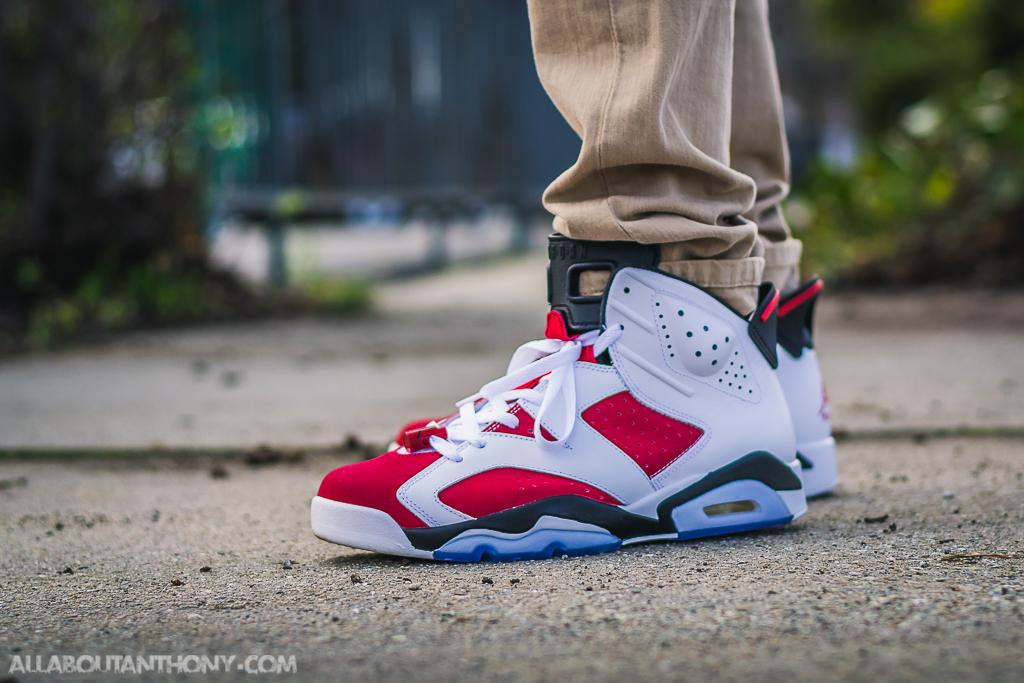 Jordan 6 On Feet