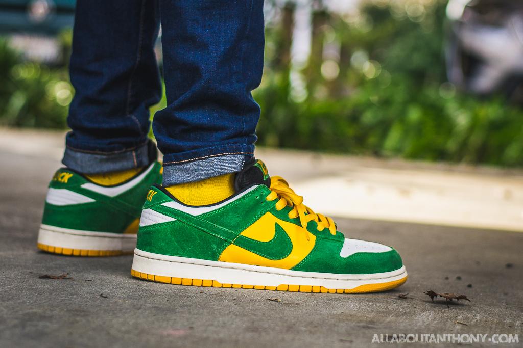 Nike Dunk Low SB Buck on feet
