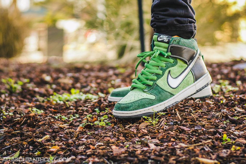 Nike SB Dunk High Brut On Feet Sneaker