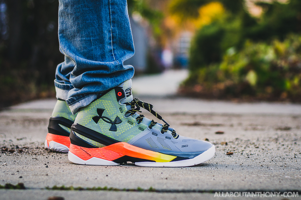 online retailer a8dfa de525 Under Armour Curry 2 Iron Sharpens Iron On Feet Review