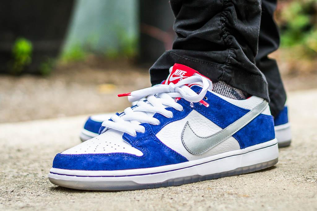Nike SB Dunk Low IW BMW On Feet Sneaker