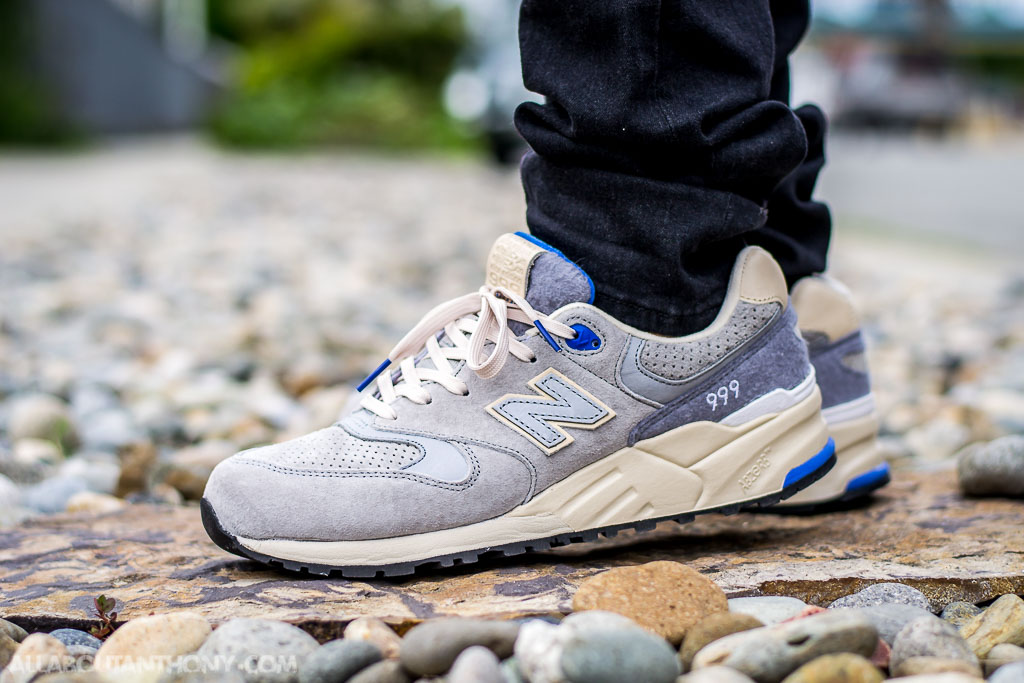 low priced 82eb6 34b70 New Balance 999 Wooly Mammoth On Feet Sneaker Review