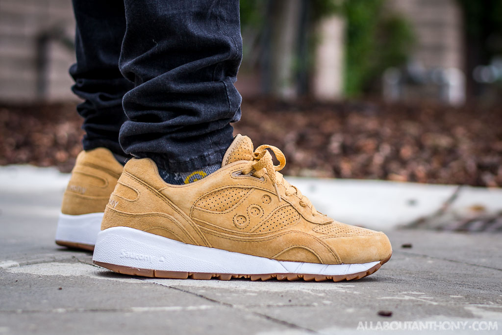 cheap for discount aa2d0 1b957 Saucony Shadow 6000 Irish Coffee Whiskey On Feet Sneaker Review