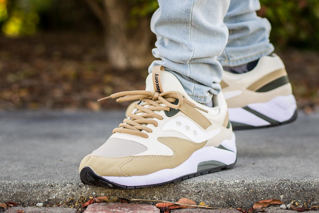Saucony Grid 9000 Sand On Feet Sneaker Review d568566b3511