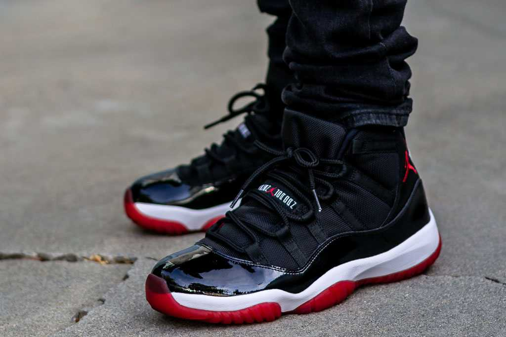 2012 Retro Air Jordan Xi Bred On Feet Sneaker Review