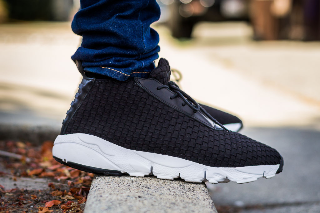 quality design 3af11 960f2 Nike Air Footscape Desert Chukka Black On Feet on foot photo