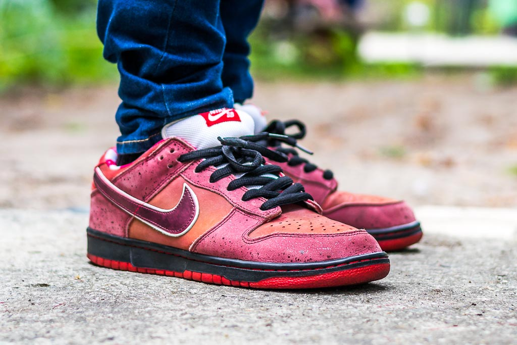 super popular ad8c6 98e4a ... coupon code for nike sb dunk low red lobsters f284a 3c6ea