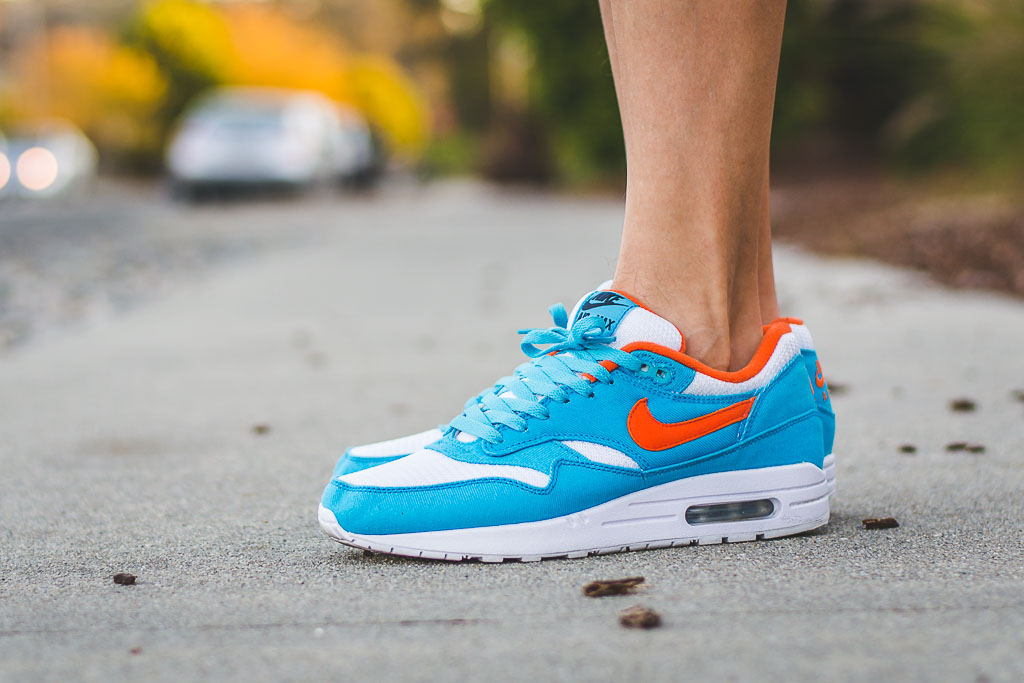Nike Air Max 1 ID Dolphins On Feet Sneaker Review