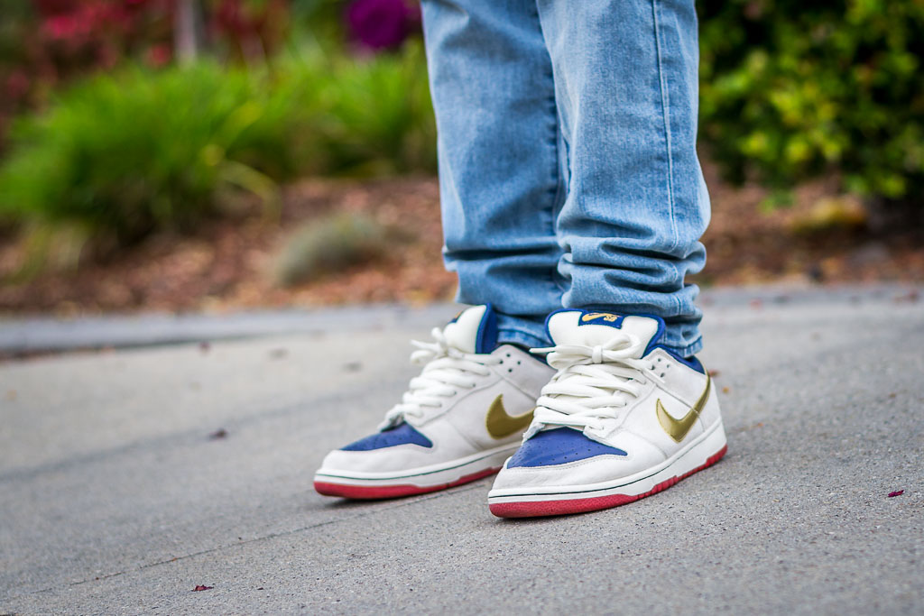 online store be483 01a24 Nike Dunk Low SB Old Spice On Feet on foot photo