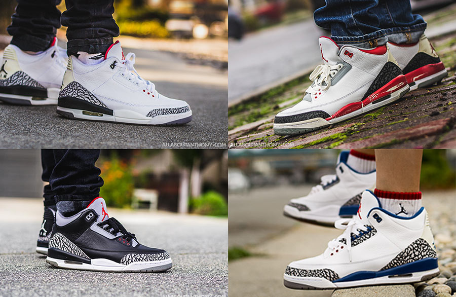4 Must Have Air Jordan 3 Colorways For Your Collection