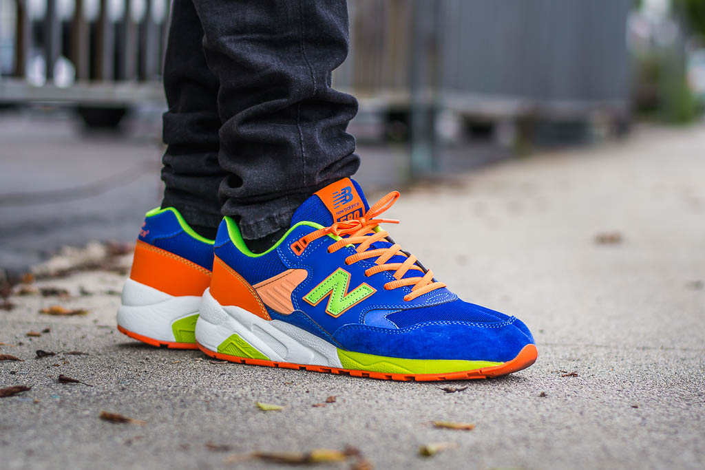 064878f670 New Balance 580 Neon Pack On Feet Sneaker Review