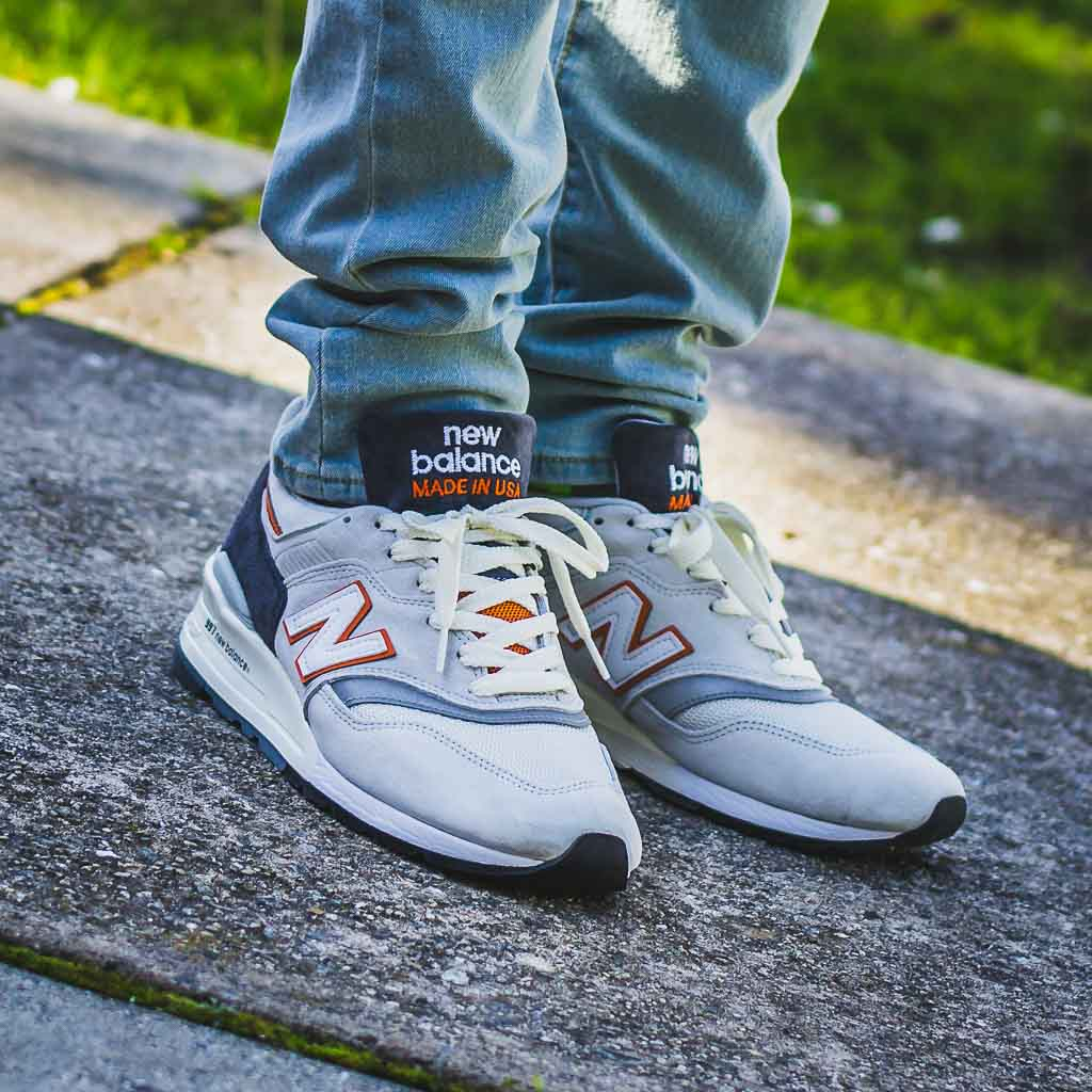895bb90a25 New Balance 997 Explore By Sea On Feet Sneaker Review