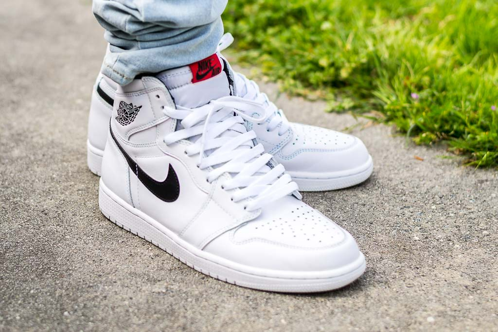 sports shoes f4ed4 7eb75 Air Jordan 1 Yin Yang White On Feet Sneaker Review