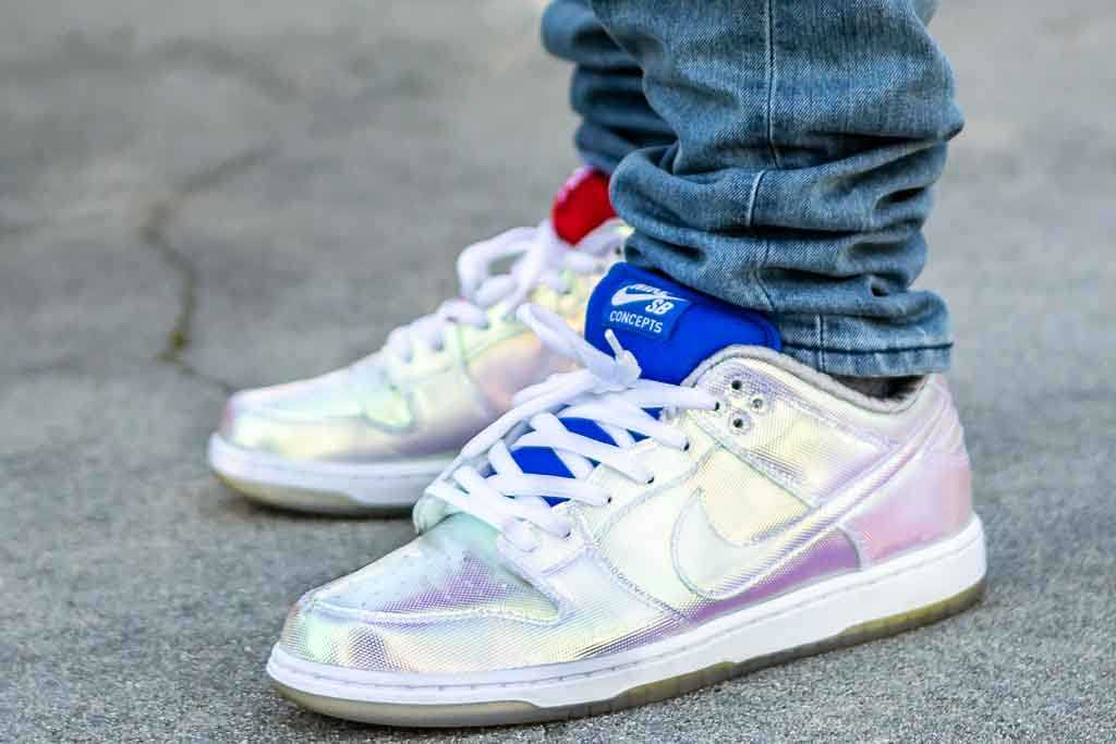 Concepts x Nike Dunk Low SB Holy Grail