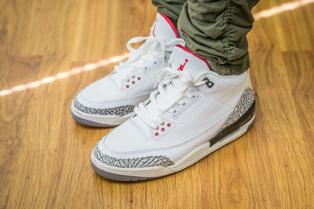 ffc46e81e9e8 Air Jordan III White Cement (2003) - WDYWT