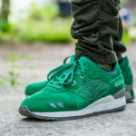 Asics GLIII Puddle Pack Green Suede WDYWT