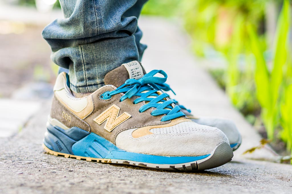 new product 2bbd6 d9ff2 New Balance 999 Concepts SEAL ML999COP On Feet Sneaker Review