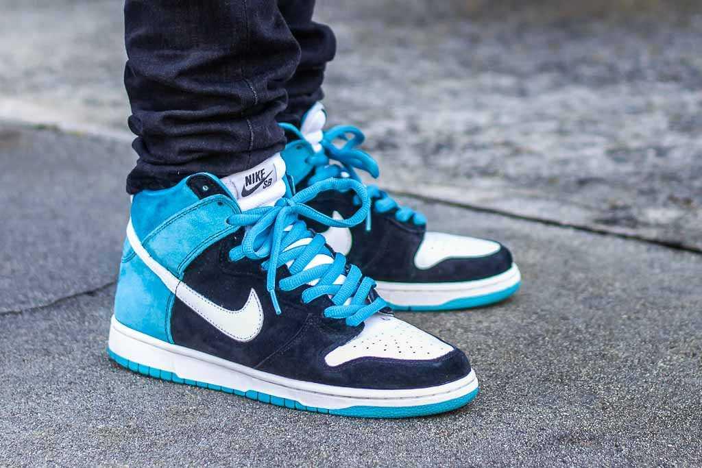 Nike Dunk High SB Send Help On Feet
