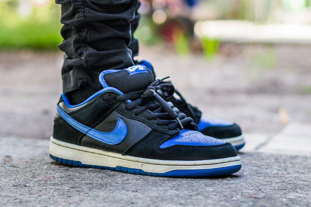 huge discount 33f4a 10a45 Nike Dunk Low SB J-Pack on feet