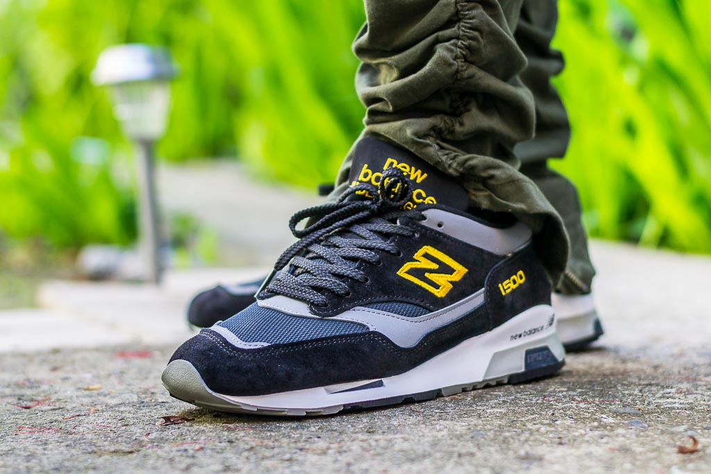 New Balance 1500 Black Yellow On Feet Sneaker Review e10f6e1ca