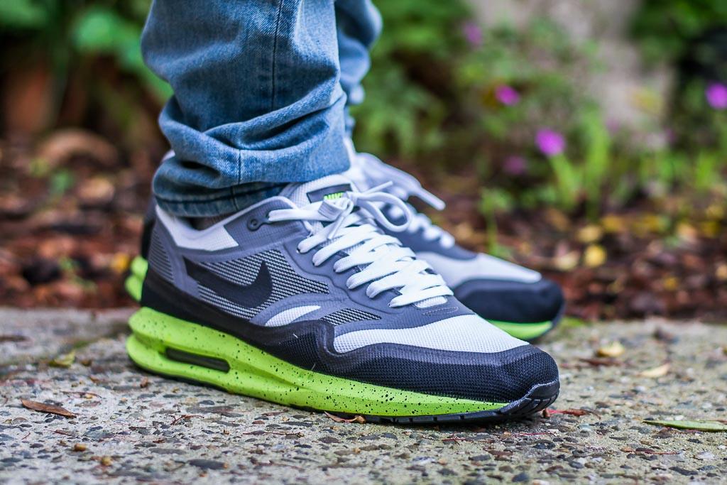 Nike Air Max Lunar1 Volt On Feet on foot photo
