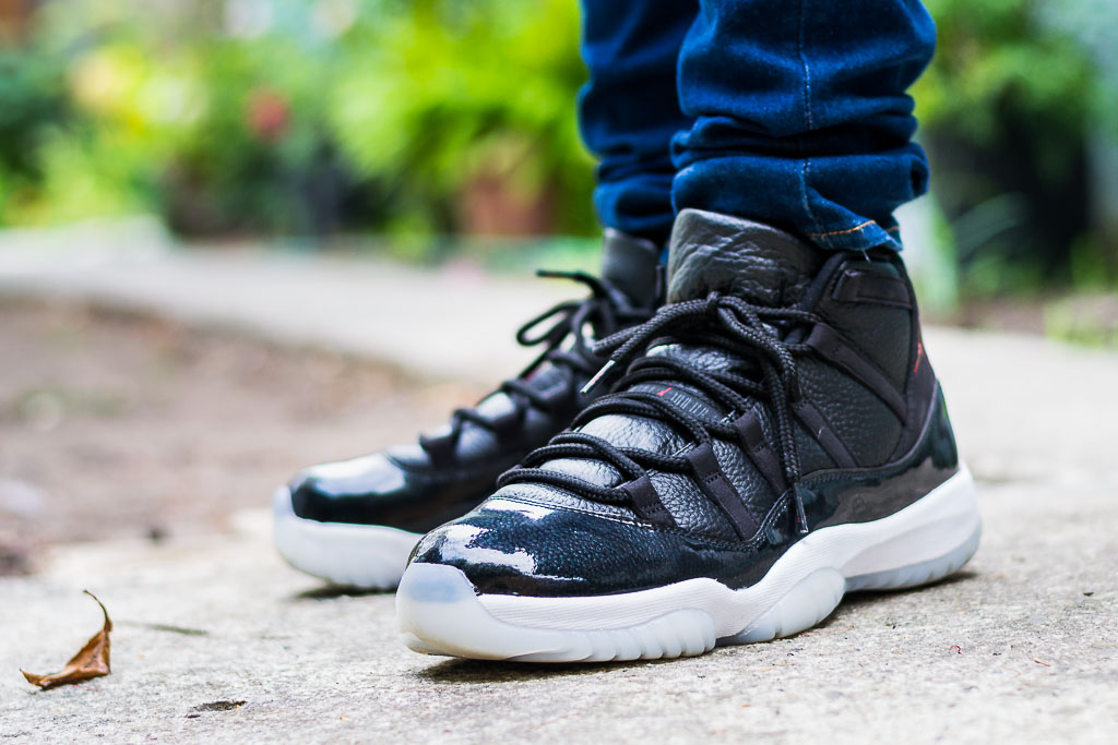 7b371782762e Air Jordan 11 72-10 On Feet Sneaker Review